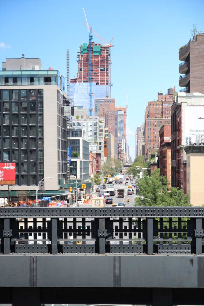 View of manhattan from the highline
