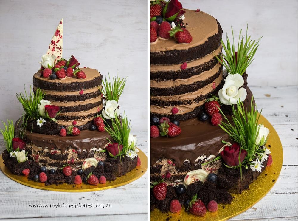 Garden Cake my Kitchen Stories