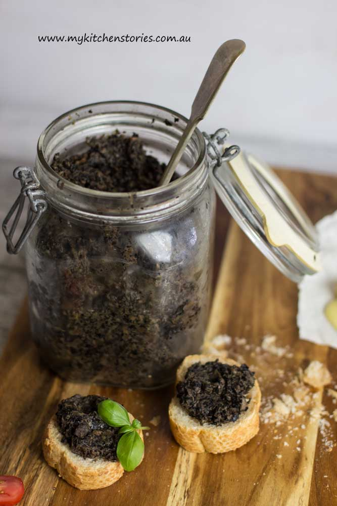 Mushroom Pate- my kitchen Stories