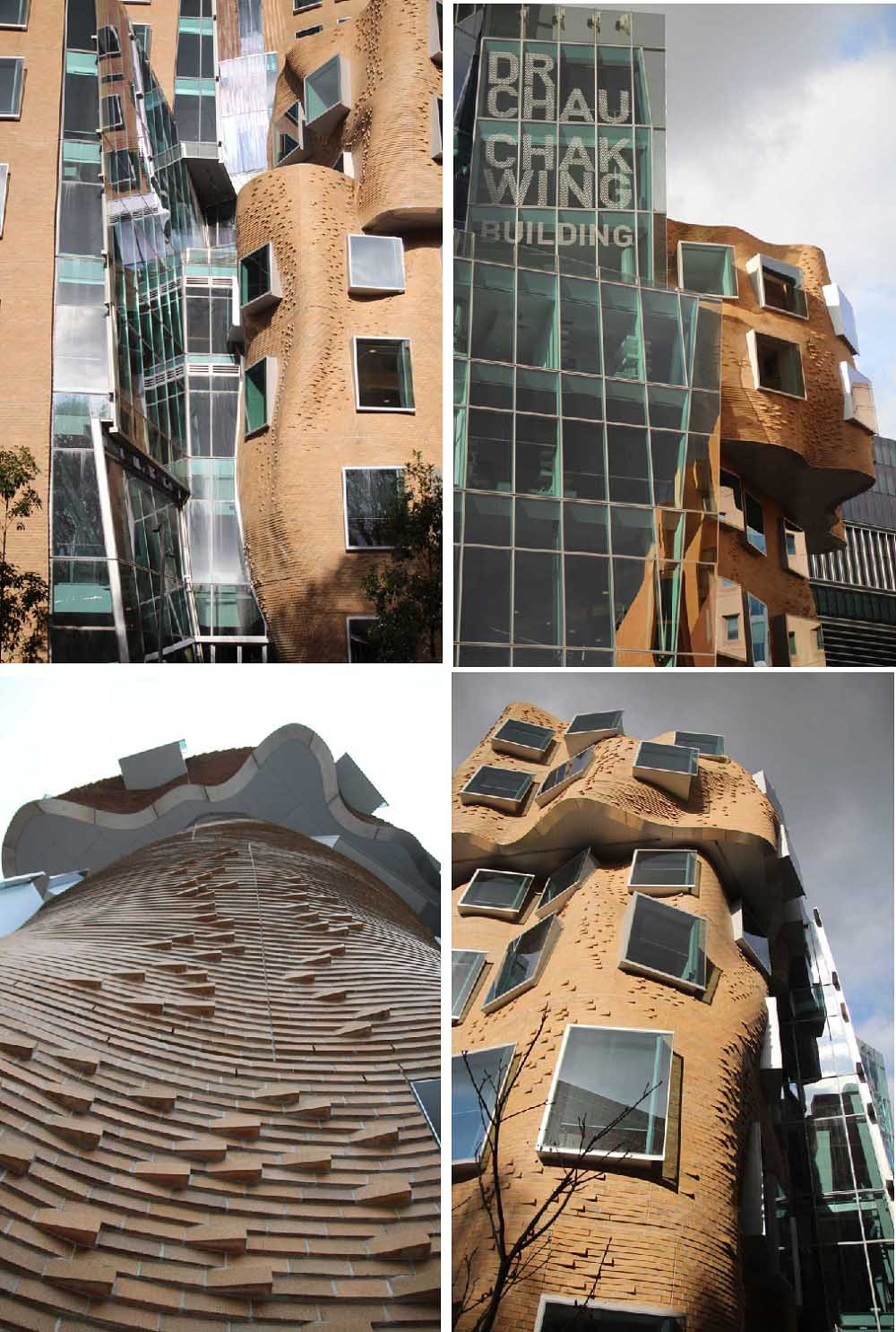 UTS and the paper bag building
