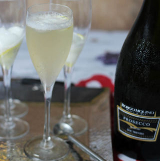 Prosecco Lemon Delicious Cocktails