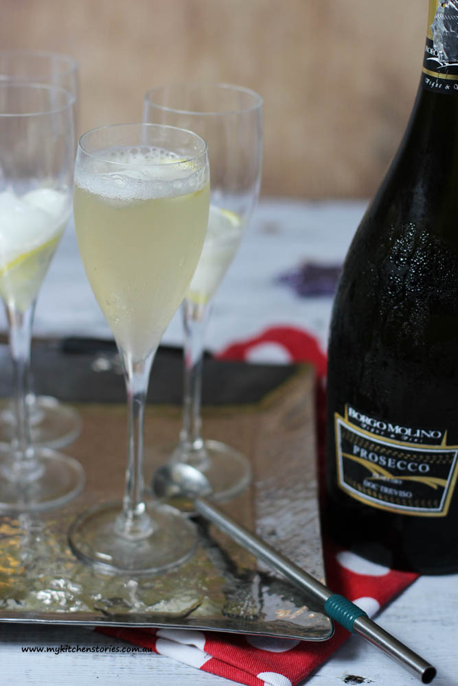 Prosecco Lemon Delicious Cocktails
