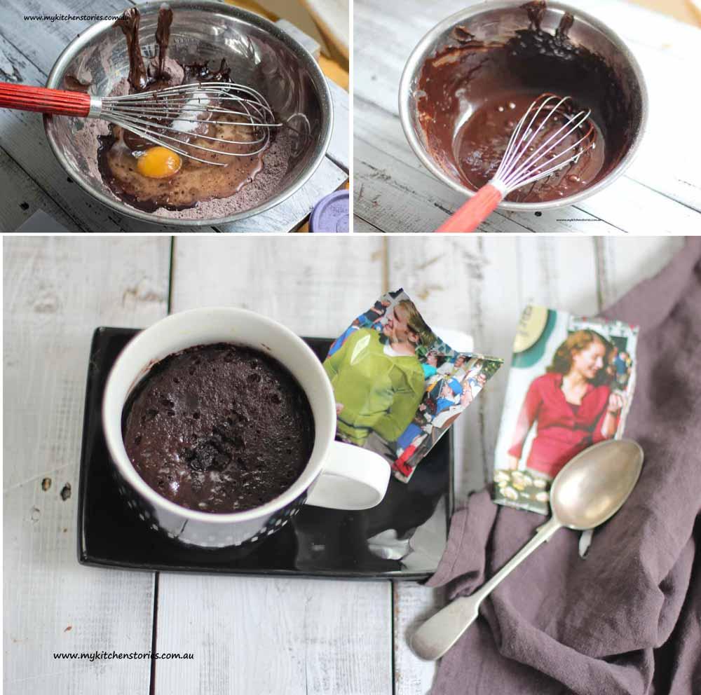 Mug Desserts for singles