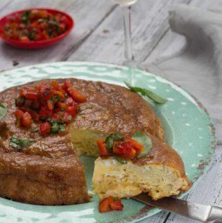 Spanish Potato Chip Omelette