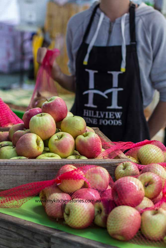 Apple Tray bake : Hillview Fine Foods