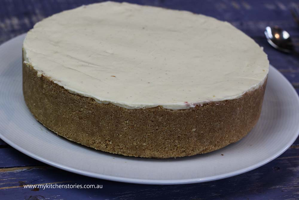lemon no bake cheesecake
