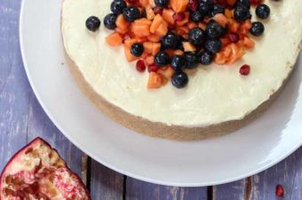 Lemon Cheesecake no bake