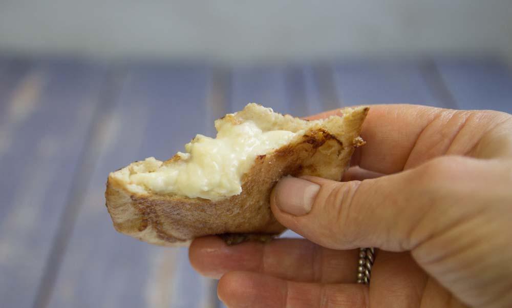 Banana Cheesecake pocket snacks.