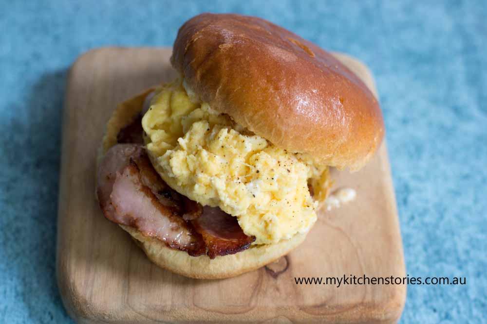 Sparkling Scrambled eggs: In My Kitchen