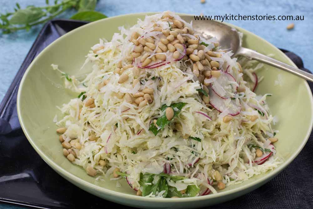 Parmesan Cabbage Salad