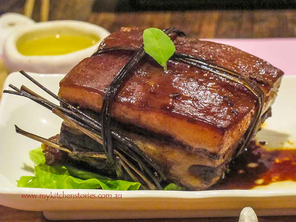 Easy Caramelised Pork Belly