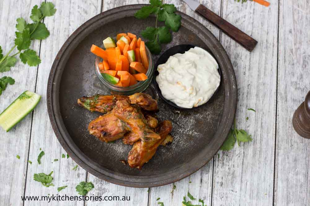 Chicken Wings Blue Cheese Dip
