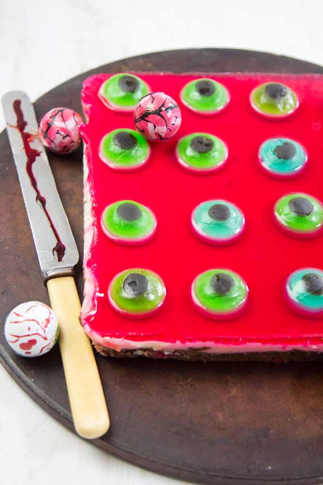 Eyeball Slice for Halloween