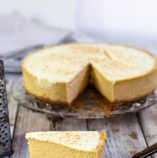 Pumpkin Latte Cheesecake
