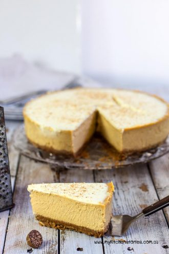 Pumpkin Latte Cheesecake