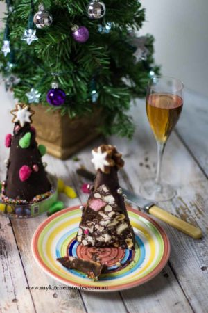 Rocky Road Christmas trees