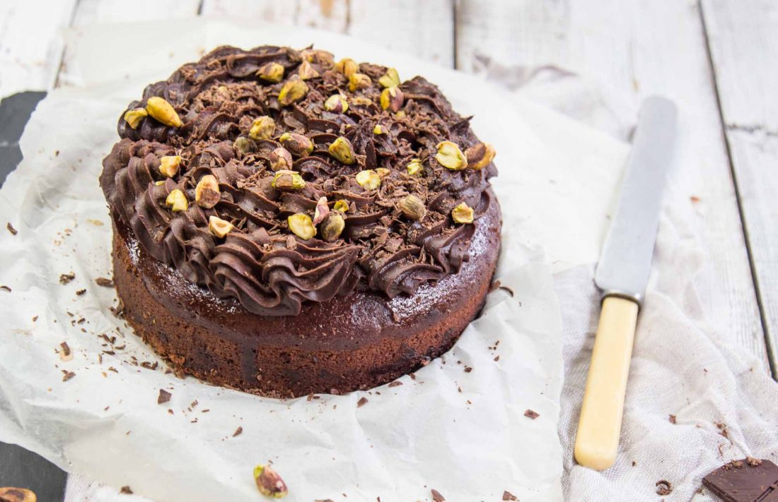 Chocolate cake Vegan