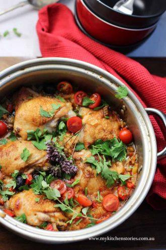 One Pot Chicken Risoni