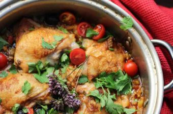 One Pot Chicken Risoni