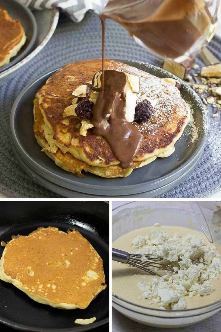 Homemade Pancakes - Ricotta