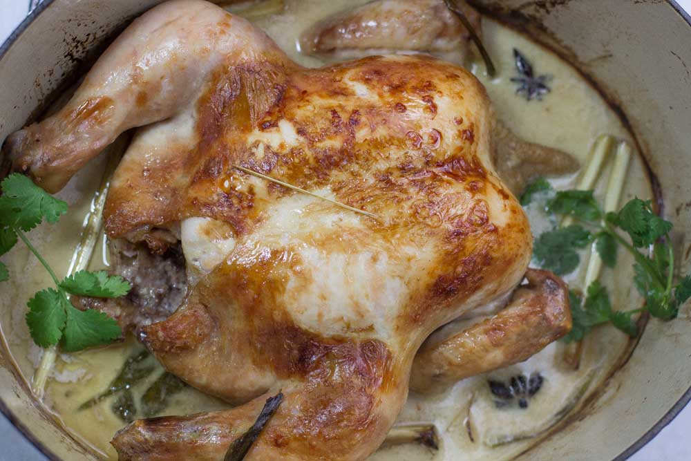 Oven Poached Chicken