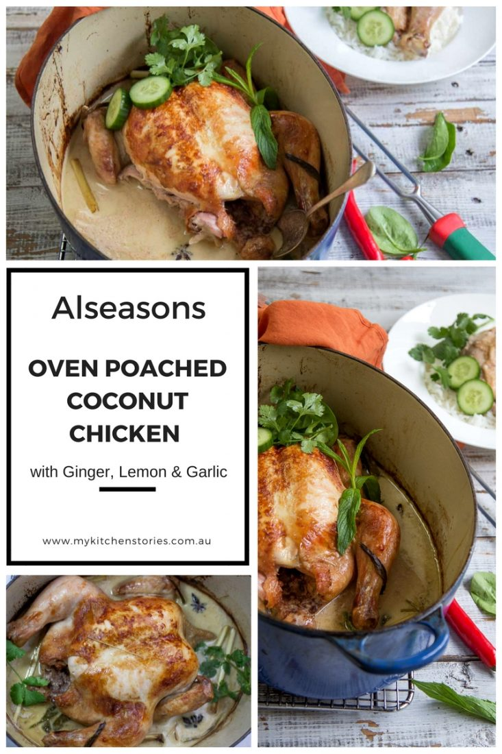 Coconut Roast Chicken Chicken