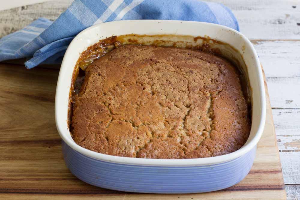Apple Caramel Pudding