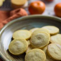 Mandarin Shortbread