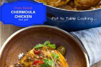 One Pot Chermoula Chicken