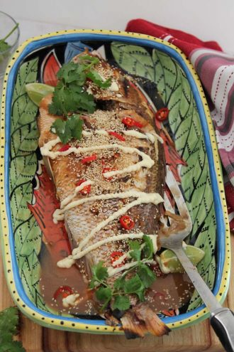 Snapper with Miso