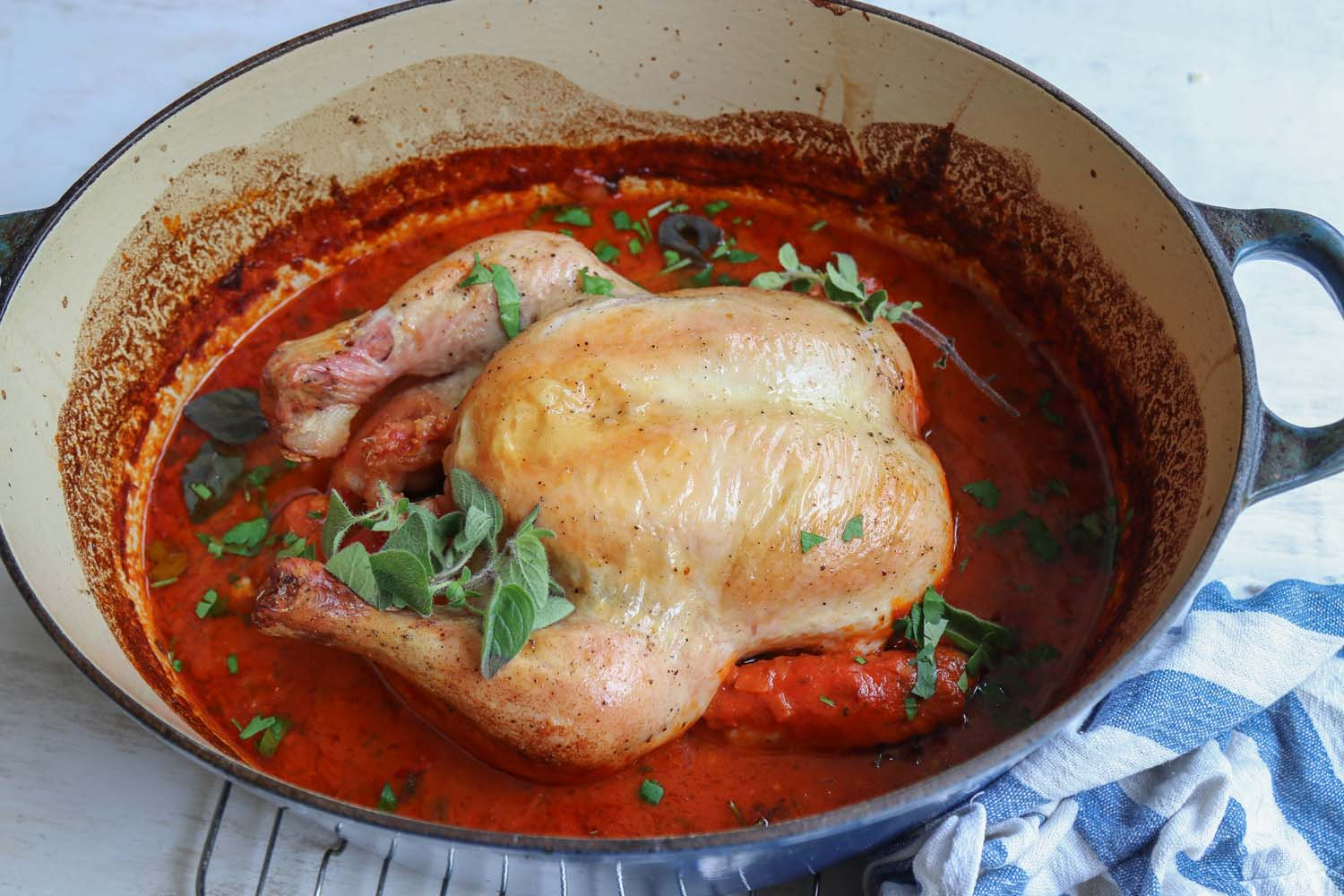 One pot Italian Chicken