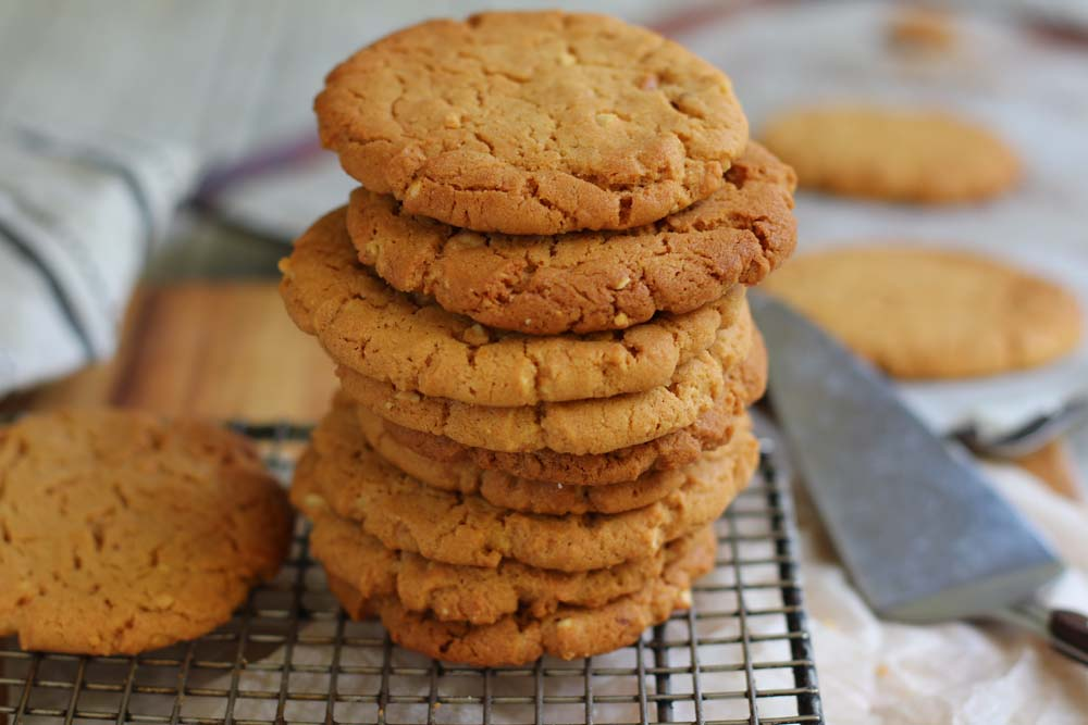 Peanut Butter Vegan cookies