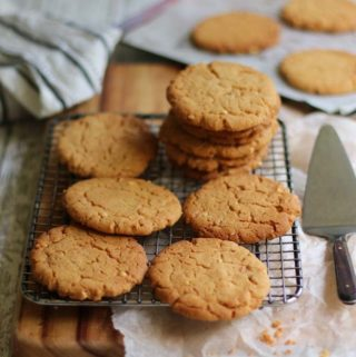 Peanut butter Cookies for Vegans