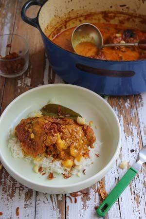 One Pot Balinese Chicken