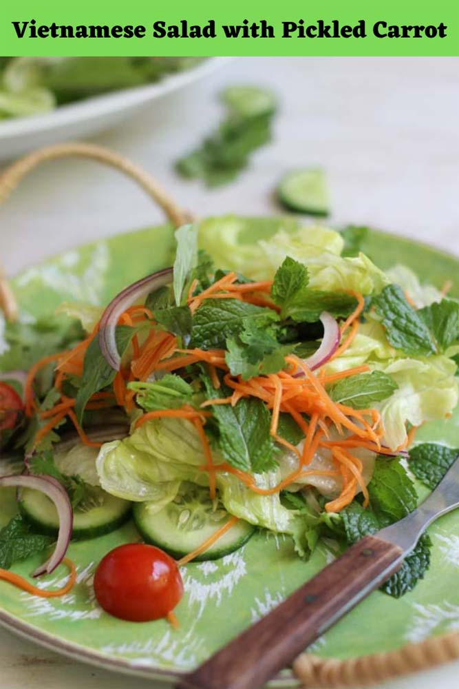 Vietnamese salad easy to make