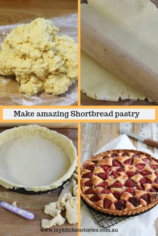 making shortbread poastry a selection of pictures