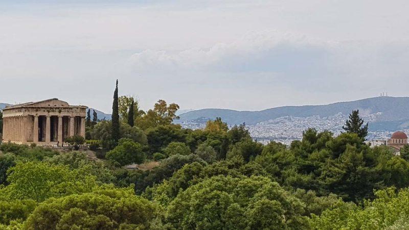 The temple of Hephaestos