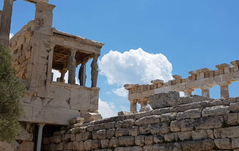 The Temple of Athena on the Acropolis