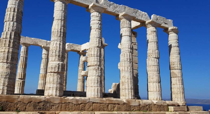 Cape Sounion and the Temple of Poseidon