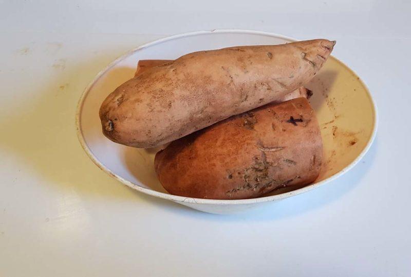 1 kg of sweet potato