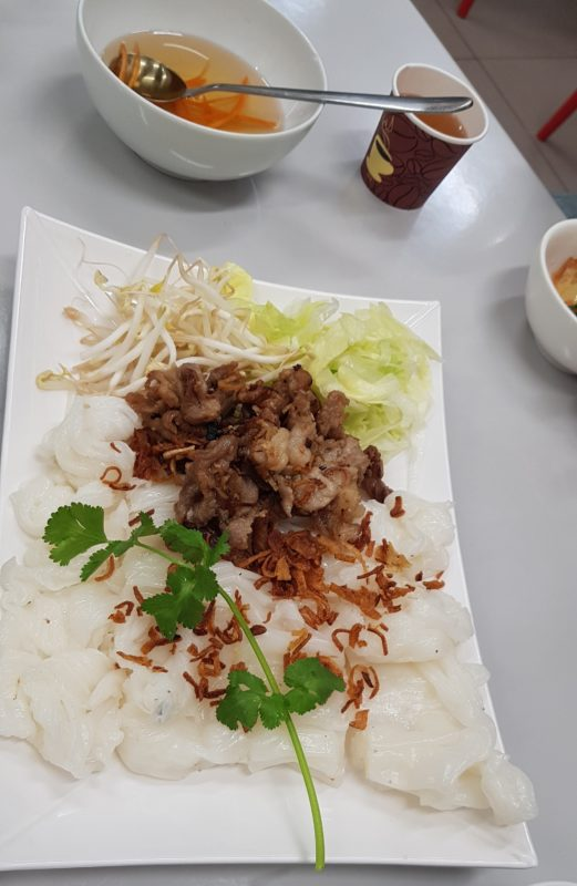 Bahn Cuon dishes in Bankstown