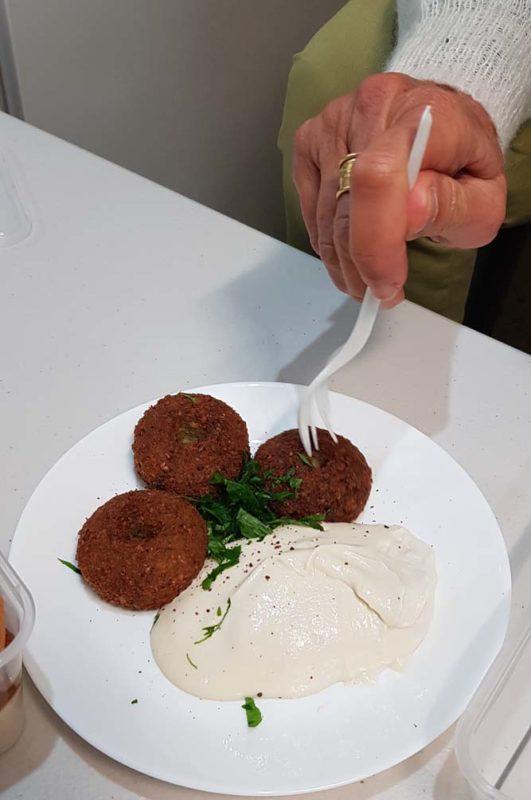 Alshami estaurant falafels and murahama