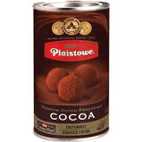 Different types of Dutch cocoa powders