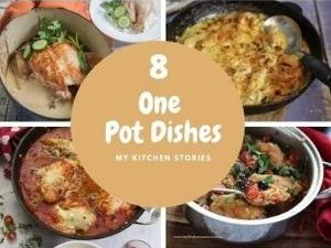 Pictures of 8 easy one pot dinners