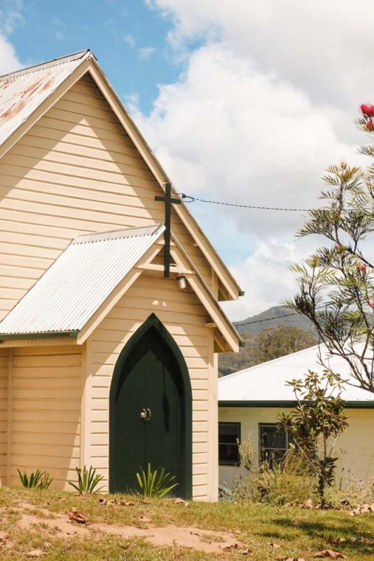 Byaburra township church
