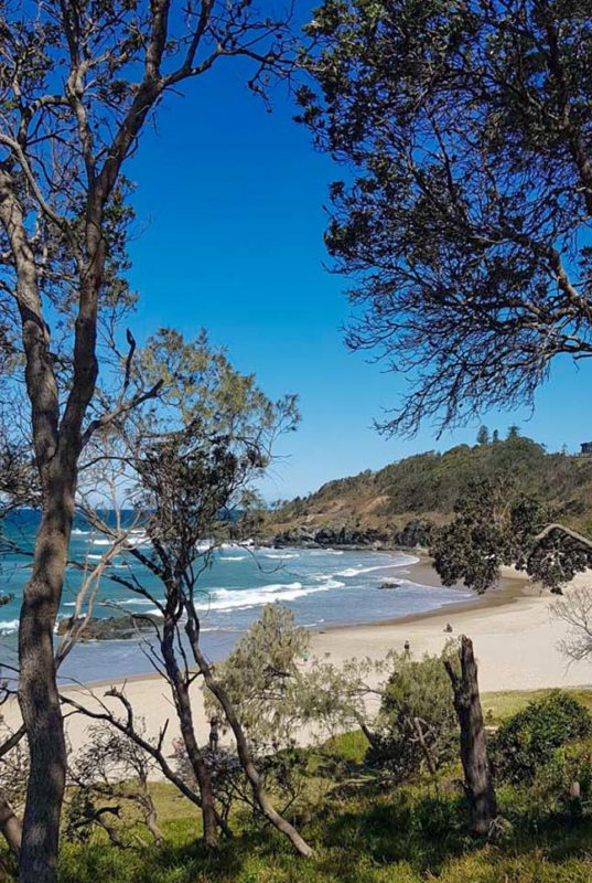 The coastline walks around Port macquairie