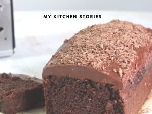 Chocolate beetroot loaf cake