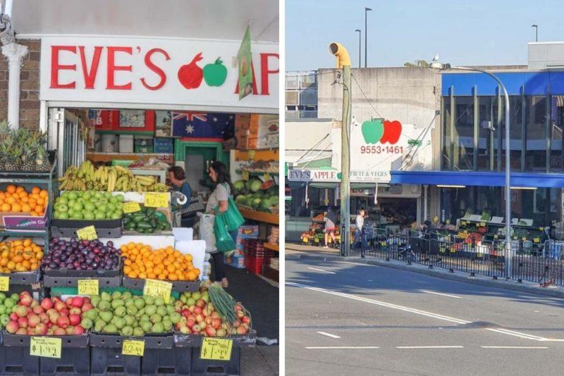 Eves apple vegetables in Kogarah