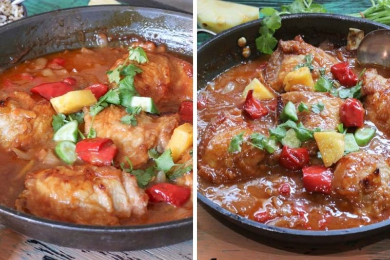 Sweet sour in one pot baked